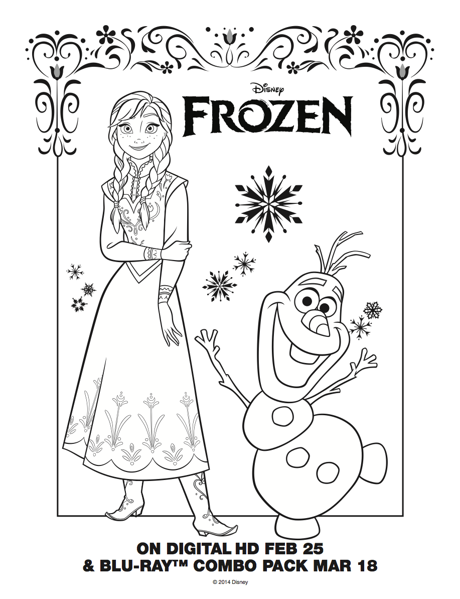 Pattie's Place: 21 Frozen Party Activities