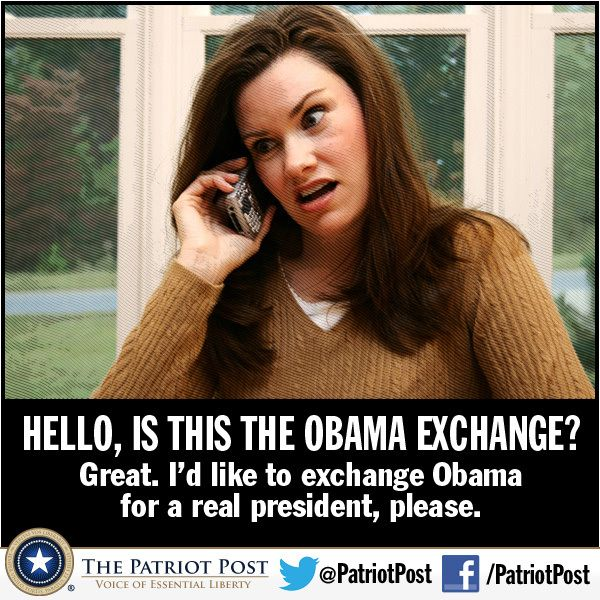 Hello, is this the Obama Exchange?