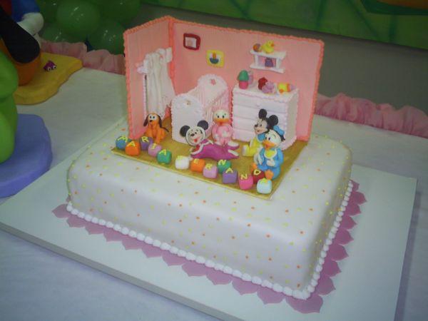 Disney Baby Shower Cake