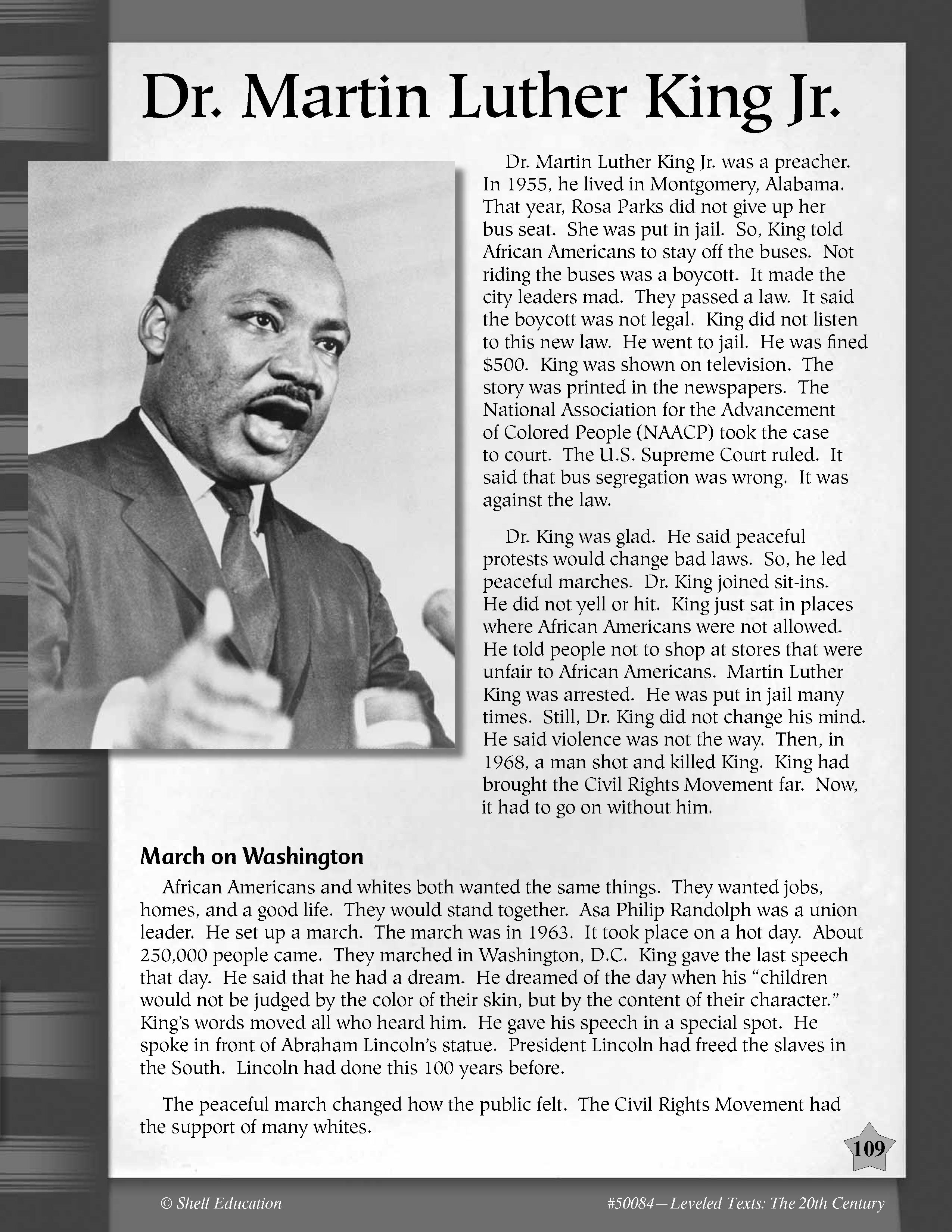 Martin Luther King Jr S Birthday