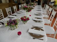 table setting ideas | Outdoor Wedding Ideas | Pinterest