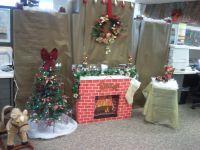 Christmas office decor | christmas fayre | Pinterest
