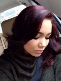 Burgundy hair color | hair | Pinterest