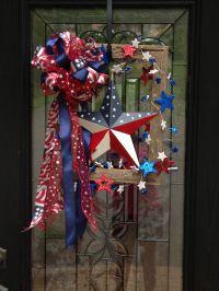 Fourth of July door decoration   Holidays   Pinterest
