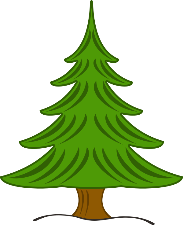 Christmas Tree Clipart - Google Scrapbooking &