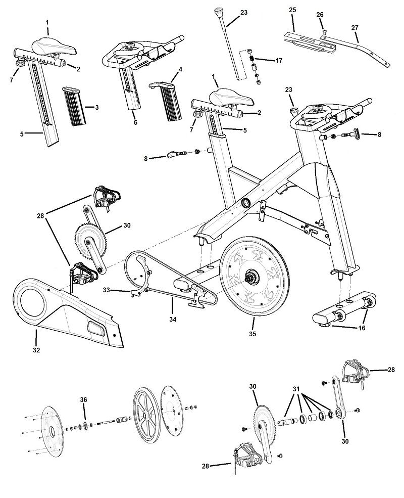 Pro Fitness Jx Spinning Bike Manual