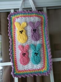 Easter Peeps door decoration