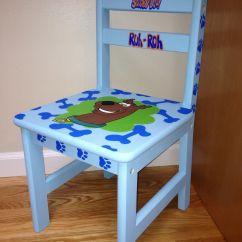 Scooby Doo Chair Office In Walmart Kids Painted Children 39s Furniture