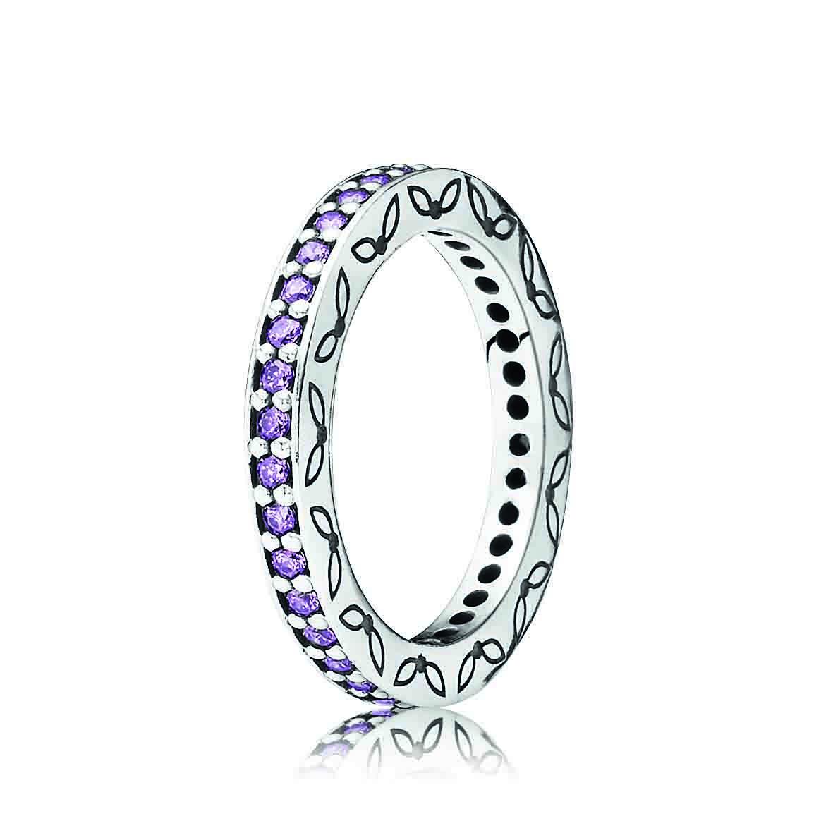 Pandora ring in amethyst  Jewelry  Pinterest