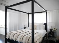 Excellent And Simple Modern Four Poster Bed Placement ...
