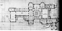 Biltmore Ground Floor Plan With Details Gilded Age