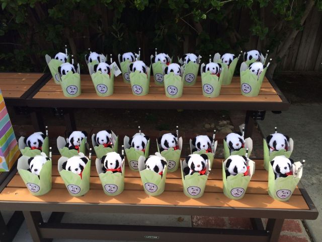 Panda party favors panda party pinterest