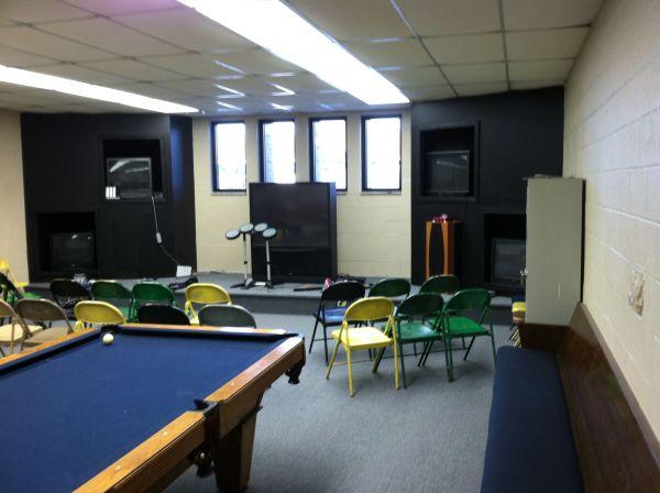 Church Youth Group Room Ideas