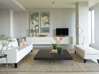 very zen living room
