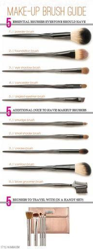 make up brush guide www.korigami.vn