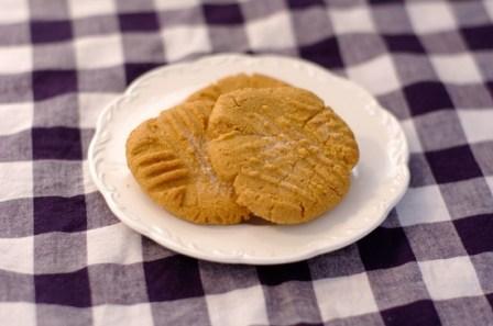 Fabulous Flour-less Peanut Butter Cookies