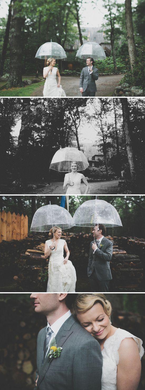 rain on a wedding day... Photos by Juan Maclean.