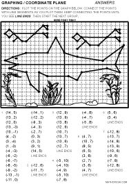 Integers Ordered Pair Graphing Worksheets That Form A