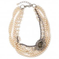 Pear drop necklace Harvey Nichols