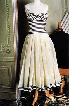 Chanel dress 1958