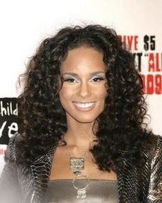 We Love her hair curly!
