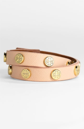 Tory Burch Wrap Bracelet-Pink Cloud