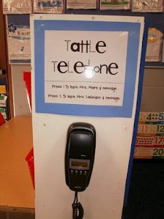 """tattle telephone, press 1 to """"leave a message"""" and tattle on someone-  ha ha!"""