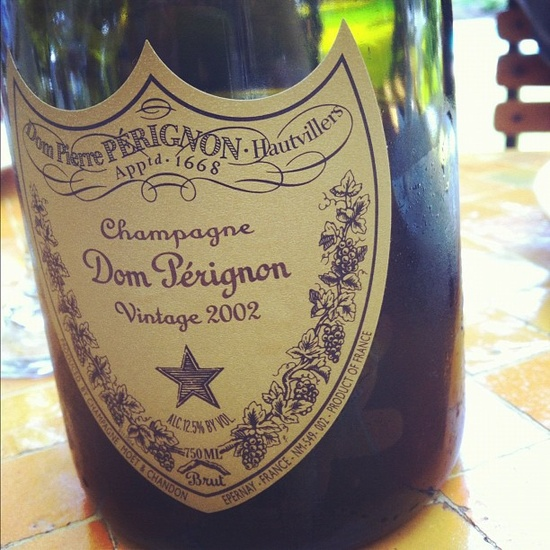 #DailyFoodie with Dom Perignon
