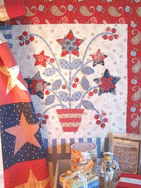 star flowers  patriotic