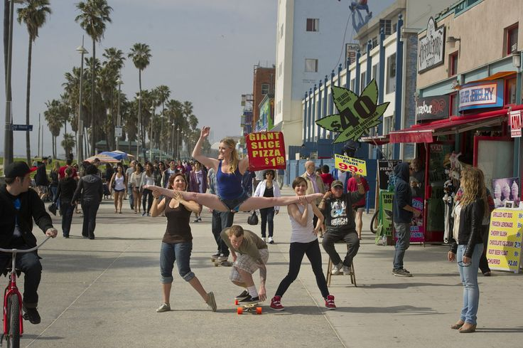 See this image of Venice Beach, CA - Kayla Radomski in Jordan Matter's upcoming book: Dancers Among Us - in bookstores this fall!