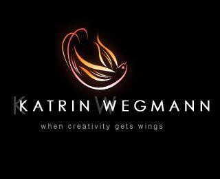Personal Logo by Katrin Wegmann (via Creattica)