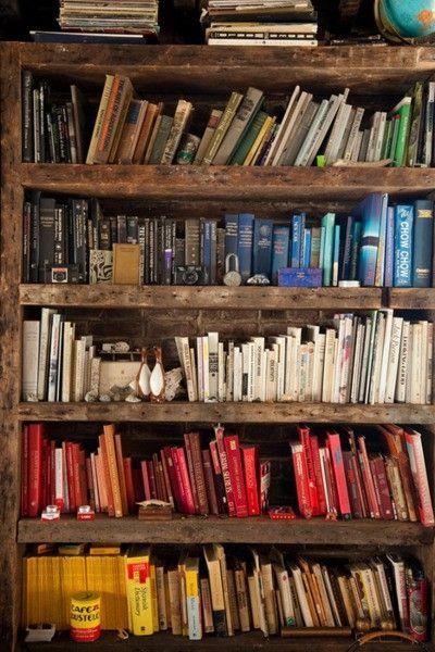 Organizzare i libri di colore