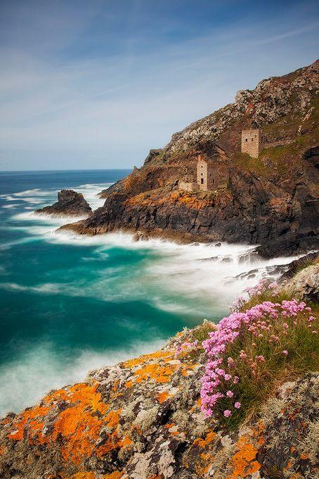 Cornwall Coast  England