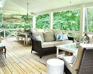 Southern Porch Before & After :: Hometalk