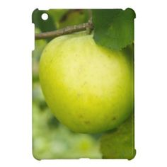 Green Apple on a Tree Branch Cover For The iPad Mini