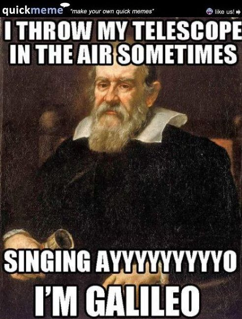Galileo Meme