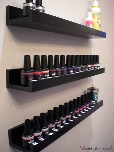 Nail Polish Storage Shelves The Trendy Nail