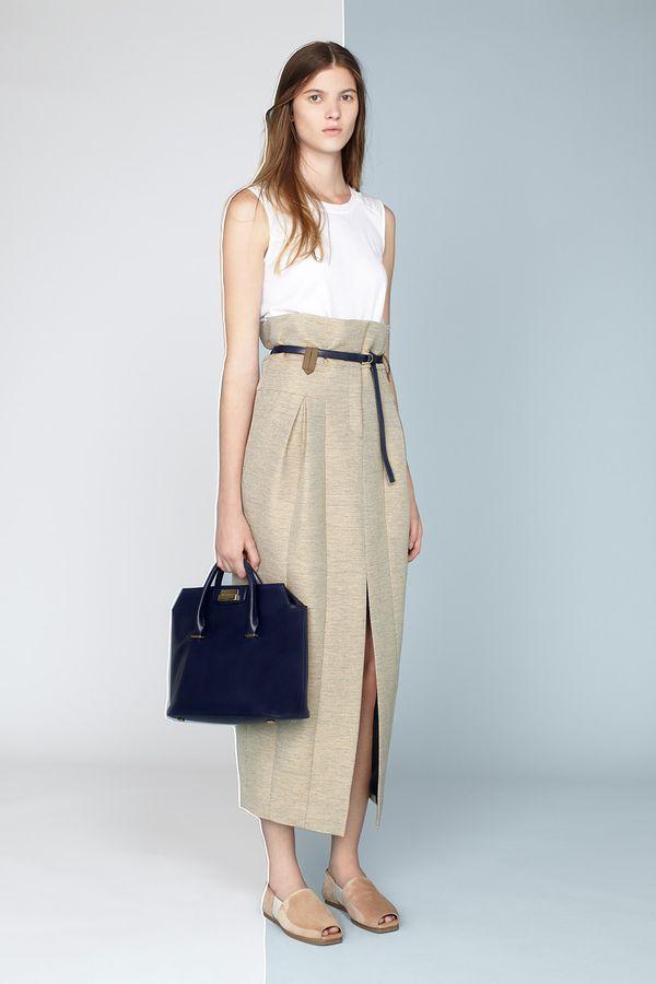The Row Resort 2014 high waist skirt