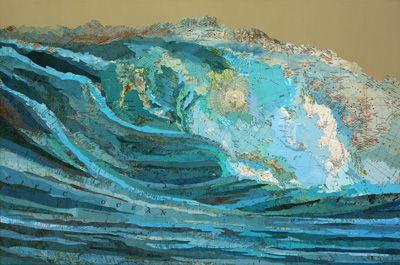 ❥ Matthew Cusick, artista mixed media che crea pezzi incredibili utilizzando le mappe