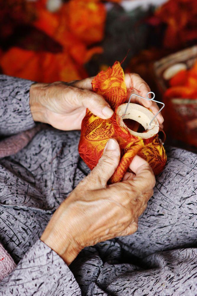 La storia dell'artigianato vietnamita.