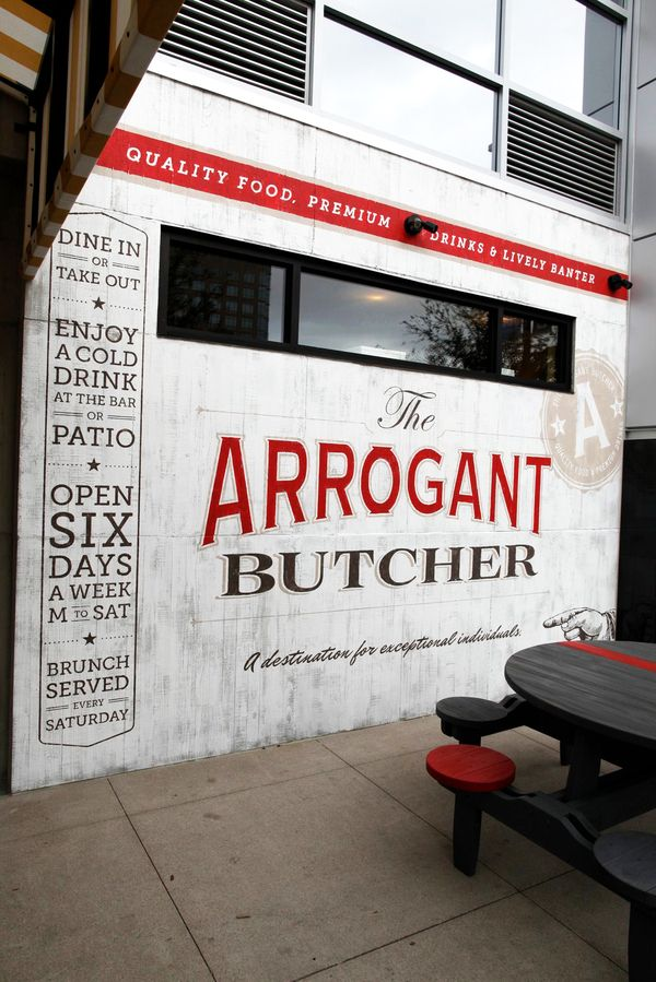 The Arrogant Butcher