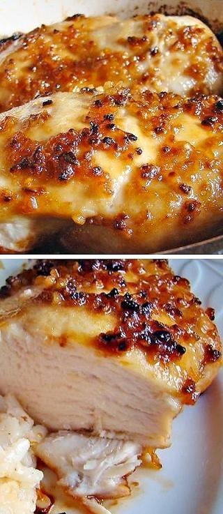 baked garlic brown sugar chicken recipe