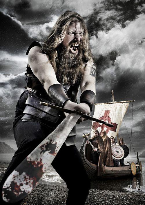 Imagen promocional de Amon Amarth