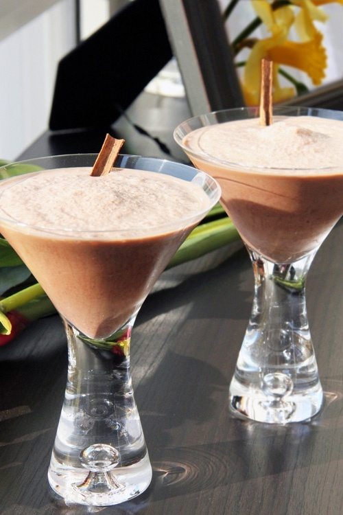 Spicy Mexican Chocolate Coffee Milkshakes
