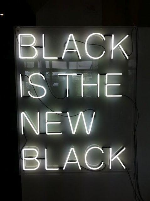 Black is the new black.  #zincdoor #colorcrave #black
