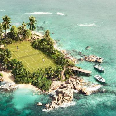 Unique Tennis Courts