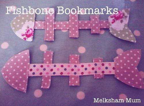 Melksham Mum: Fishbone Bookmarks {#pinaddicts April}