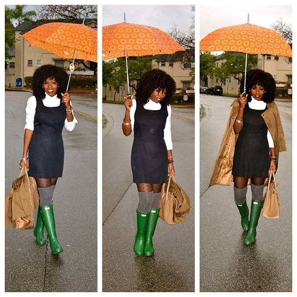 Today's Outfit Post: Rainy day!