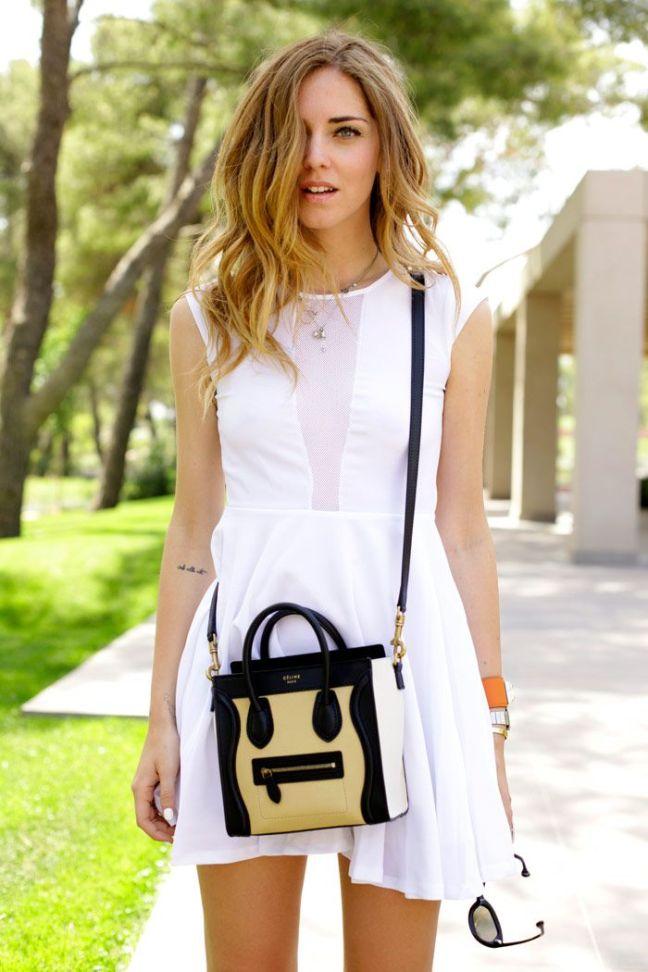 Hoe draag je een witte jurk - Hoe kleed je een witte muur ...