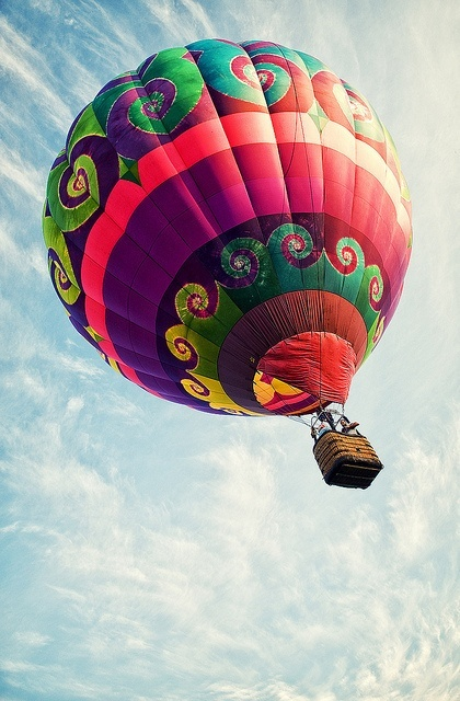 Hot air balloon - Mongolfière